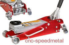 2,5ton rangierwagenheber Alu gato para aluminio acero combinación Floor Jack