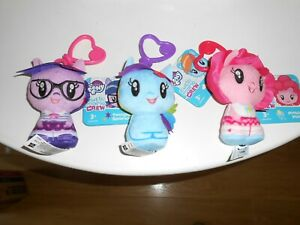 """My Little Pony Cutie Mark Crew  x 3 clip--4"""" new with tags"""
