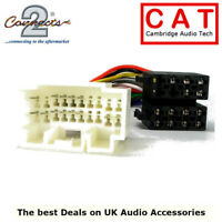 CT20HD02 Honda Car Radio ISO Harness Adaptor most vehicles 2000 >