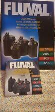 Fluval User Manual + Dvd