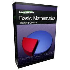 Basic Mathematics Math Test Training Course Textbook CD