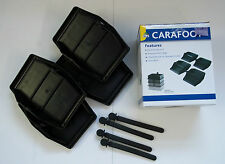 Carafoot Jack Pads - Set of 4, Caravan Leg Feet, Caravan Steady Foot Jack Pads