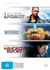 I, Robot / Independence Day / Minority Report - (3-Disc Set) - NEW DVD - R4