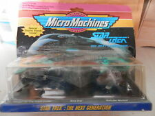 MICRO MACHINES COLLECTIONS # 3 STAR TREK THE NEXT GENERATION SET DAMAGED PACK