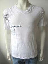 Emporio Armani EA Swimwear Herren T-Shirt Weiß XL