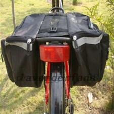 Outdoor Bike Bicycle Cycling Rear Seat Double Panniers Bag Trunk Rack Pack AU