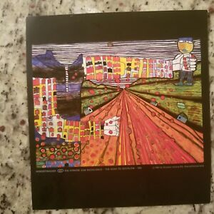 Friedensreich Hundertwasser The road to Socialism authentic reproduction.