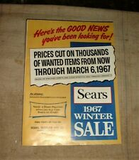 1967 SEARS WINTER SALE CATALOG nice Roebuck Chicago