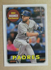 2018 Topps Heritage High Number Action Variation SP #709 Eric Hosmer Padres