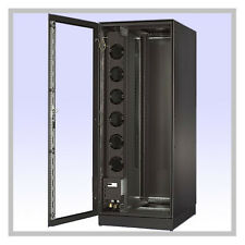 42u Server Cabinet Air Conditioned via Chilled Water Cooling Hybrid IT Network
