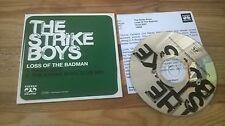 CD Pop Strike Boys - Loss Of The Badman (2 Song) Promo STEREO DELUXE cb presskit