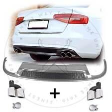 4ESD Diffusor für Audi A4 B8 Facelift 11-15 Standard Stoßstange + ESD Blenden