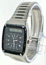 Vintage Seiko James Bond Digital Analog LCD Wristwatch H357-5049 + Alarm Chrono