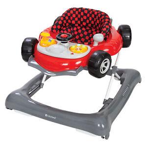Baby Walker Travel Activity Toddler Walking Toy Foldable Walk Wheels Adjustable