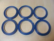6 ROLLOS DE Azul Mochila Selladora CINTA PARA CUELLO máquinas (9mm x 66m) -