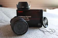 Sigma Objektiv mit Brennweite 18-250mm für Canon