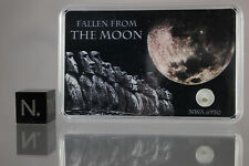 Moon rock NWA 6950 lunar meteorite - GENUINE STONE from the MOON - Own the Moon!