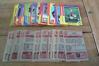 Topps Red Back Football Cards 1975 - VGC! - Pick & Choose The Cards You Need!