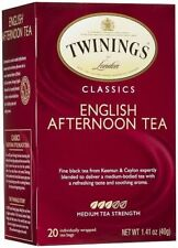 Twinings Of London English Afternoon Black Tea - 20ct Box