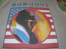 BON JOVI 1985 VINTAGE CONCERT TOUR TEE SHIRT 7800 FAHRENHEIT XL MUSCLE SHIRT