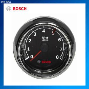 "Bosch New FST 7901 SP0F000018 Sport II 3-3/8"" Tachometer (Black Face)"