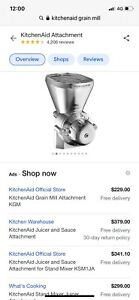 KitchenAid KGM Grain Mill Attachment (0883049189604)