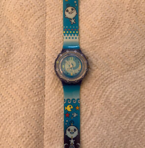 1999 Sea Ghost - Collector Club Swatch watch RARE Untested EUC