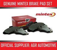 MINTEX REAR BRAKE PADS MDB1191 FOR FIAT CROMA 1.9 TD 89-93