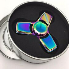 EDC Fidget Hand Spinner Multicolor Torqbar Brass Focus ADHD Autism Finger Toy