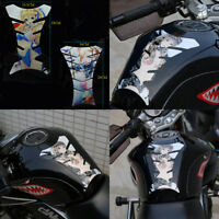 Anime Bishoujo Motorcycle Reflective Oil Fuel Tank Pad Protector Sticker Decal