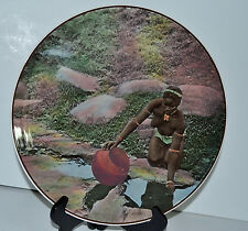 Royal Doulton African Series Zulu Girl At Water -Hole Zululand