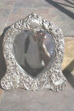 Antique William Comyns Sterling Silver Frame London 1891-2
