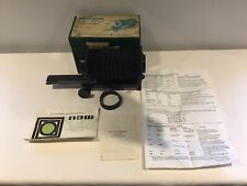 Boxed Helios Macro Bellows Attachment For Pentax - K With Box And Paperwork 1978