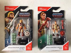 Mega Construx MASTERS OF THE UNIVERSE HE-MAN & TEELA LOT 2