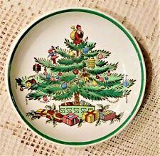 "VINTAGE MID-20th CENTURY SPODE ENGLAND - ""CHRISTMAS TREE""  DECORATIVE DISH"