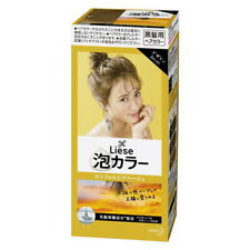 Kao Liese Creamy Bubble Hair Color Design Series California beige from Japan