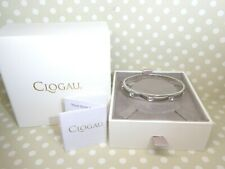 Clogau Gold, Silver & Rose Gold Tree of Life Insignia Bangle RRP £350.