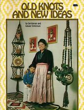 Craft Book: # Z19 Old Knots And New Ideas - Rare Macrame Patterns
