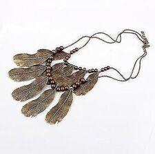 Collar de bisutería color principal bronce