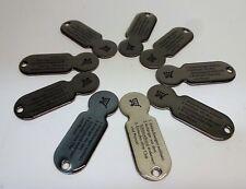 10 Stk abziehbar Einkaufswagenchip Einkaufswagenlöser Metall TOP Qualität Chip