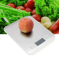 10Kg/1g Accurate Digital Kitchen Food Scale Gram Electronic Stainless O6H5