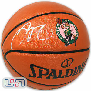 Jayson Tatum Autographed Boston Celtics I/O Logo NBA Basketball Fanatics Auth