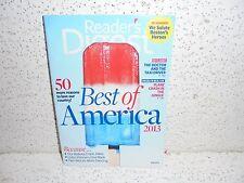 Vintage Reader's Digest Magazine July 2013                Readers Digest 13