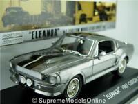 SHELBY MUSTANG 1967 ELEANOR GONE IN 60 SECONDS MODEL CAR GREENLIGHT ISSUE K8Q~#~
