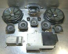 Porsche 981 Bose Komplette Lautsprechersystem Lautprecher Verstarker Subbas