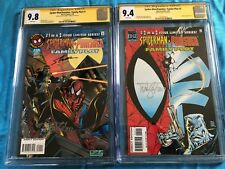 Spider-Man/Punisher Family Plot 1-2 -Marvel - CGC SS 9.8 9.4 -Sig by Lyle, Hanna