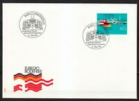 Switzerland 1993 FDC cover Lake Constance steamer Hohentwiel & flags