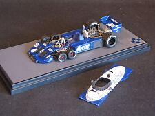 BBR built kit Tyrrell Ford P34 1977 1:43 #4 Patrick Depailler (FRA) (KL)