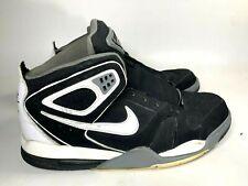 NIKE AIR FLIGHT FALCON Black White 397204-012 Men Basketball Shoes Size 13