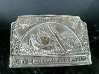Vintage Collectible Hunting Heritage Belt Buckle by Lewis 1980s